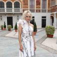 Pamela Anderson - Cocktail de la 57ème édition du Festival de Télévision de Monte-Carlo, Monaco, le 18 juin 2017. © Olivier Huitel/Pool Monaco/Bestimage