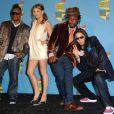 Les Black Eyed Peas : Apl.de.ap, Fergie, Will.i.am, et Taboo