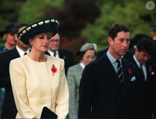 La princesse Diana et le prince Charles en visite officielle en Corée du Sud en novembre 1992.