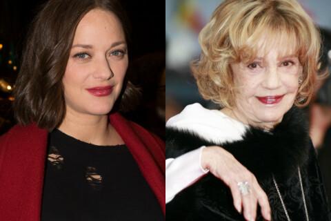 """Marion Cotillard pleure Jeanne Moreau : """"Tu as été si généreuse avec moi"""""""