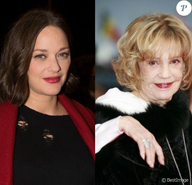 Marion Cotillard rend hommage à Jeanne Moreau après sa mort.