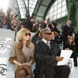 Anna Wintour et le grand journaliste de mode André Leon Talley