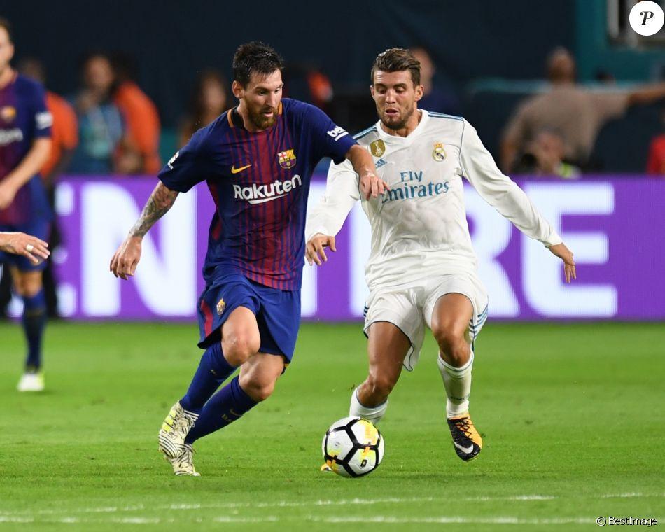 Lionel Messi - Le FC Barcelone a dominé son grand rival, le Real Madrid, 3 à 2 dans le premier «Clasico» disputé à Miami le 29 juillet 2017.