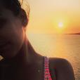 Pauline Ducruet lors de ses vacances à Mykonos à l'été 2015, photo Instagram.