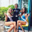 "Marta, candidate de ""Koh-Lanta Fidji"" (TF1), a concouru à l'élection de Miss Italie 2015."