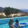 Victoria Azarenka et son fils Leo, né en décembre 2016. Photo Instagram du 17 juin 2017.