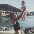Victoria Azarenka et son fils Leo, né en décembre 2016, à Majorque. Photo Instagram du 14 juin 2017.