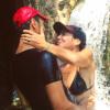 "Sandra Zeitoun amoureuse : Tomer Sisley lui offre ""le baiser le plus sexy"""