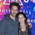 """""""Tomer Sisley et sa compagne Sandra Zeitoun - Avant-première du film """"Ghost in the Shell"""" au Grand Rex à Paris, le 21 mars 2017. © Olivier Borde/Bestimage"""""""