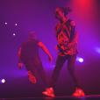 Photo de Drake et Future en concert. Octobre 2016.