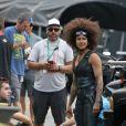 Doublure casting de Zazie Beetz pour Deadpool 2 à Vancouver, le 7 août 2017.