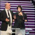 Isabelle Adjani aux Globes de Cristal