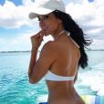 """""""Brittany Furlan coquine lors de son séjour aux Bahamas avec Tommy Lee en août 2017, photo Instagram."""""""