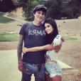 """Tommy Lee et Brittany Furlan en couple, photo Instagram du 24 juillet 2017"""