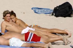 La star du football Fernando Torres... va être papa !