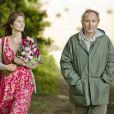 "Gemma Arterton et Fabrice Luchini dans ""Gemma Bovery"" d'Anne Fontaine en 2014."