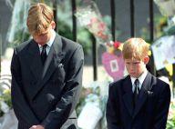 William et Harry : Ce moment où ils ont appris la mort de Diana, avec leurs mots