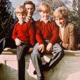 Les princes William et Harry avec leurs parents le prince Charles et la princesse Diana en février 1991.