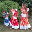 Norbert Tarayre : ses trois filles prennent la pose ! Décembre 2015.