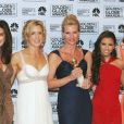 Nicollette Sheridan et le casting de la série Desperate Housewives recompensés lors des Golden Globes 2006