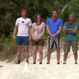 "Equipe rouge - ""Koh-Lanta Fidji"", le 1er septembre 2017 sur TF1."