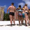 "Equipe jaune - ""Koh-Lanta Fidji"", le 1er septembre 2017 sur TF1."