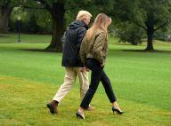 Melania Trump : En talons aiguilles pour contrer un ouragan, tollé général
