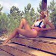 Alexandra Rosenfeld en vacances au Portugal. Instagram, août 2017