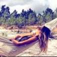 L'ex-Miss France Alexandra Rosenfeld en vacances au Portugal. Instagram, août 2017