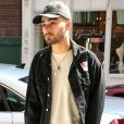Zayn Malik arrive au domicile de sa compagne Gigi Hadid, à New York, le 15 juin 2017.
