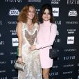 """Petra Collins et Selena Gomez assistent à la soirée """"Harper's Bazaar Icons by Carine Roitfeld"""" organisée au Plaza Hotel de New York, le 8 septembre 2017."""