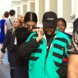 Selena Gomez et son compagnon The Weeknd sont allés faire du shopping chez Louis Vuitton dans le quartier SoHo à New York, le 3 septembre 2017.