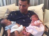 Cristiano Ronaldo en famille : Ses jumeaux assoupis, nouvelles photos craquantes