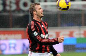 David Beckham : ciao Milan... Hello Los Angeles ?
