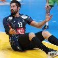 Nikola Karabatic lors du match de demi-finale du 25th mondial de handball, France - Slovénie à l'AccorHotels Arena à Paris, le 26 janvier 2017. © Cyril Moreau/Bestimage