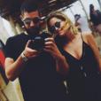 Luka Karabatic et Jeny Priez, enceinte de leur premier enfant, une petite fille, lors de leurs vacances en Corse fin juin 2017. Photo Instagram.