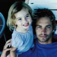 Meadow Walker avec son père sur Instagram (photo postée le 12 septembre 2015)