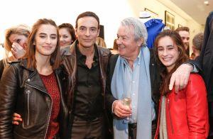 Anthony Delon pose avec sa fille Liv : Elle a de qui tenir...