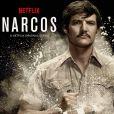 Affiche promotionnelle pour la série Netflix Narcos. 2015.