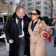 En février 2008, c'est  love in the city  pour François-Henri Pinault et sa fiancée Salma Hayek, lookés et amoureux à Manhattan.