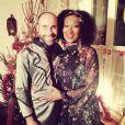 Nadege Beausson-Diagne et son chéri Geoffroy Jeff Tekeyan, sur Instagram, décembre 2016