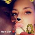 Emilie Fiorelli et M'Baye Niang mariés en secret ? La photo qui sème le doute, mars 2017, Snapchat