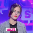 "Julie - ""Secret Story 11"", sur NT1. Le 19 septembre 2017."