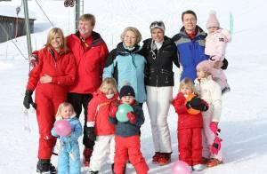 Vacances à la neige pour la famille royale néerlandaise au très grand complet ! C'est trop chou !