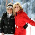 Toute la famille royale néerlandaise s'éclate aux sports d'hiver, à Lech, en Autriche ! Maxima avec sa belle-soeur Laurentien.