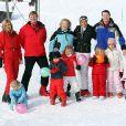 Toute la famille royale néerlandaise s'éclate aux sports d'hiver, à Lech, en Autriche !