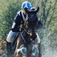 Maxime Debost sur son cheval Qurt de Montplaisir. Instagram, novembre 2016