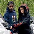 Exclusif - Kylie Jenner et Travis Scott, très amoureux ici le 31 mai 2017 à Los Angeles, vont avoir un enfant en 2018.