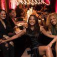 """Christina Milian et M. Pokora ont fêté leurs anniversaire  avec leurs amis au restaurant """"Beauty & Essex"""" à Los Angeles le 26 septembre 2017"""