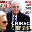 """Couverture du magazine """"Paris Match"""", numéro 3567, en kiosques le 28 septembre 2017."""